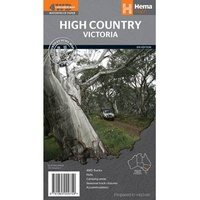 Hema Maps - High Country Victoria Map